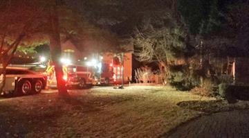 Firefighters respond to brush fire scene By KMOV Web Producer
