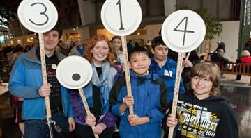 The Exploratorium in San Francisco holds an annual Pi Procession of pi's digits. By KMOV.com staff