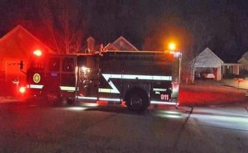 Firefighters responded to a brush fire in O'Fallon, Mo. By KMOV Web Producer