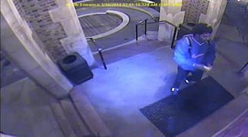 (KMOV.com) – Police are asking for help in identifying a man suspected of vandalizing a Central West End school over the weekend. By Stephanie Baumer