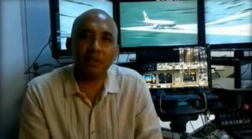 Malaysia Airlines Flight 370 pilot Zaharie Ahmad Shah appeared in a YouTube video with the flight simulator he assembled in his home. By Stephanie Baumer
