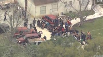 Police in Houston rescued more than 100 immigrants Wednesday from a suspected stash house where they were being held against their will. By Stephanie Baumer