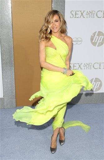 """Actress Sarah Jessica Parker attends the premiere of """"Sex And The City 2"""" at Radio City Music Hall in New York on Monday, May 24, 2010.  (AP Photo/Peter Kramer) By Peter Kramer"""