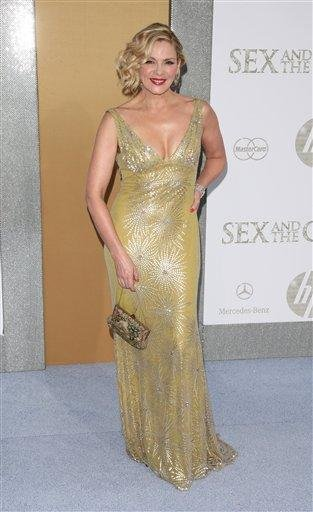"""Actress Kim Cattrall attends the premiere of """"Sex And The City 2"""" at Radio City Music Hall in New York on Monday, May 24, 2010. (AP Photo/Peter Kramer) By Peter Kramer"""