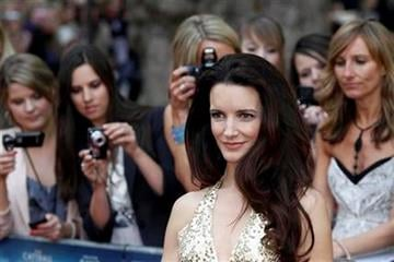 U.S. actress Kristin Davis poses for the photographers as she arrives for the British premiere of her film 'Sex and the City 2', at a central London cinema, on Thursday, May 27, 2010. (AP Photo/Lefteris Pitarakis) By Lefteris Pitarakis