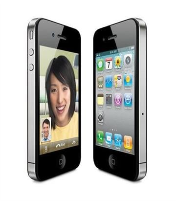 This product image provided by Apple Inc., shows the new Apple iPhone 4. (AP Photo/Apple Inc.) ** NO SALES ** By Bryce Moore