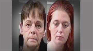 Judith Hemken and Tiffany Burton have been charged in connection  with a meth lab that was being run out of a church