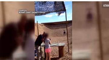 A 9-year-old girl learning to fire a submachine gun accidentally killed her instructor at a shooting range when the weapon recoiled over her shoulder, according to Arizona authorities. By Stephanie Baumer