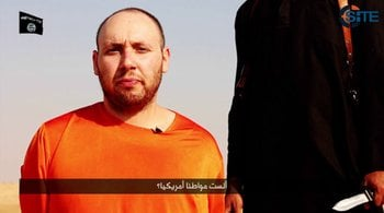 Islamic State released video on Tuesday, September 2, 2014, claiming to have executed U.S. journalist Steven Sotloff. By SITE