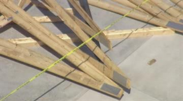 Injuries were reported after the roof truss at a new construction site collapsed Wednesday morning in Ste. Genevieve, Missouri. By Stephanie Baumer