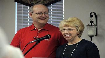 Photos of Ebola victim, Nancy Writebol and her husband, David. By Stephanie Baumer