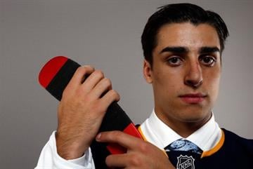PHILADELPHIA, PA - JUNE 27:  Robert Fabbri of the St. Louis Blues poses for a portrait during the 2014 NHL Draft at the Wells Fargo Center on June 27, 2014 in Philadelphia, Pennsylvania.  (Photo by Jeff Zelevansky/Getty Images) By Jeff Zelevansky