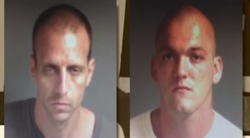 Myron Beddow and Robert Wallace are sitting in the Franklin County Jail on possible burglary charges By KMOV.com Staff