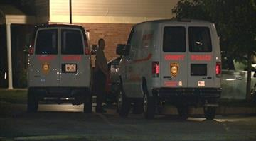 A St. Louis County officer was taken to a hospital after a gunshot struck him in his gun belt overnight. By Stephanie Baumer