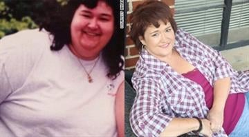 At her heaviest Baldwin weighed 350 pounds, her goal weight is 175 pounds. By Stephanie Baumer