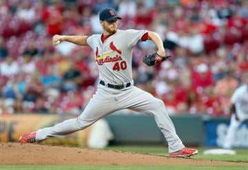 CINCINNATI, OH - SEPTEMBER 08:  Shelby Miller #40 of the St. Louis Cardinals throws a pitch during the game against the Cincinnati Reds at Great American Ball Park on September 8, 2014 in Cincinnati, Ohio.  (Photo by Andy Lyons/Getty Images) By Andy Lyons