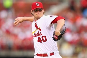 ST. LOUIS, MO - MAY 15: Starter Shelby Miller #40 of the St. Louis Cardinals pitches against the New York Mets at Busch Stadium on May 15, 2013 in St. Louis, Missouri.  (Photo by Dilip Vishwanat/Getty Images) By Dilip Vishwanat
