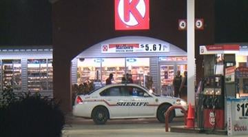 Police say two men armed with a handgun entered a Circle K store in the 5900 block of Old St. Louis Road around 3:00 a.m. By Stephanie Baumer
