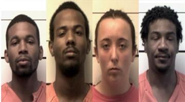 Four suspects have been charged with First Degree Robbery and Armed Criminal Action after a robbery in O'Fallon, Missouri. By Stephanie Baumer