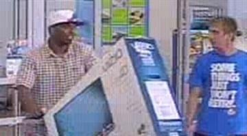 Authorities in Collinsville, Illinois are searching for two suspects who used a stolen credit card. By Stephanie Baumer