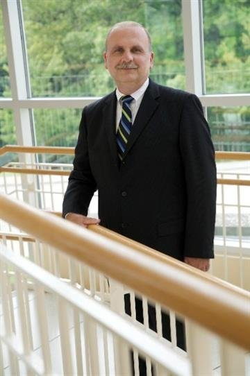 Dr. Charles Gulas, Dean of the School of  Health Professions at Maryville University.  Photo taken on September 8, 2008. By Lakisha Jackson
