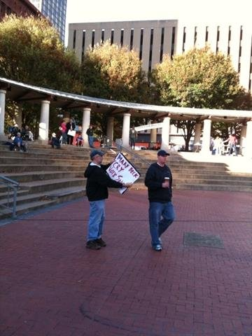Pictures from a Tea Party rally in downtown St. Louis on Wednesday, October 27, 2010. By KMOV Web Producer