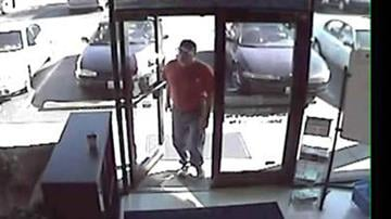In these November 3, 2010 surveillance photos, a man accused of indecent exposure is shown at a Goodwill store in Fairview Heights, Illinois.