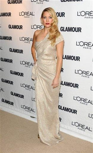 Actress Kate Hudson attends the 20th annual Glamour Women of the Year Awards at Carnegie Hall in New York, on Monday, Nov. 8, 2010. (AP Photo/Peter Kramer) By Peter Kramer