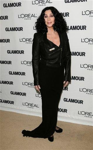 Singer Cher attends the 20th annual Glamour Women of the Year Awards at Carnegie Hall in New York, on Monday, Nov. 8, 2010. (AP Photo/Peter Kramer) By Peter Kramer