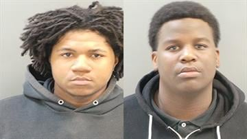 Authorities said two people, 17-year-old Dwjuan Mix and 18-year-old Jarvis Fisher, have been arrested. They are both charged with Robbery. By Daniel Fredman