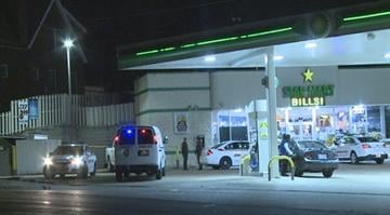 A man was shot in the arm during the incident at the BP Station located at Halls Ferry and Riverview just before 11:00 p.m. By Stephanie Baumer