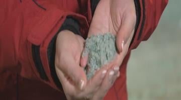 The City of St. Louis has a new tool in the fight against freezing roads this winter, green salt. By Stephanie Baumer