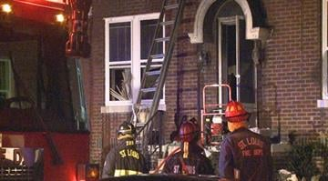 Fire officials say a mother and father had to be rescued after being were trapped inside a home in the 2000 block of Virginia Avenue around 11:00 p.m. By Stephanie Baumer