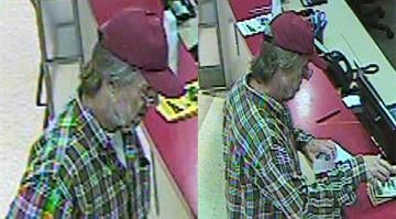Police say the suspect entered a U.S. Bank located in a Schnuck's in the 6600 block of Clayton Road around 10:00 a.m. and handed the teller a handwritten note demanding money. By Stephanie Baumer