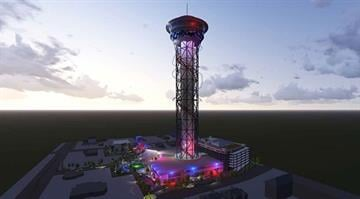 "Plans are underway to build the world's tallest roller coaster at an Orlando, Florida, theme park. The 535-foot-tall ""Skyscraper"" is due to open in 2017. By From Mango's Tropical Cafe"