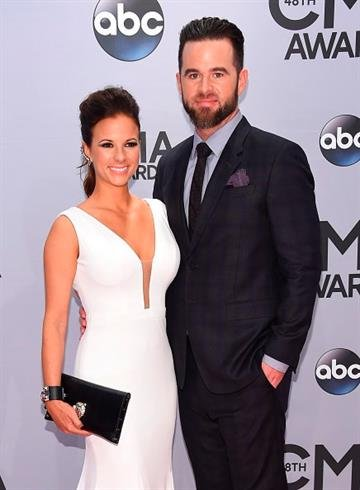 NASHVILLE, TN - NOVEMBER 05:  Catherine Werne and David Nail attend the 48th annual CMA Awards at the Bridgestone Arena on November 5, 2014 in Nashville, Tennessee.  (Photo by Larry Busacca/Getty Images) By Larry Busacca
