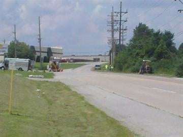 A gas leak caused an industrial park to evacuate in O'Fallon, Missouri. This happened around 11 a.m. Tuesday just off Interstate 70 on West Terra Lane and Hoff Road. By Lakisha Jackson