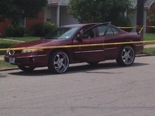 A man is hospitalized after being shot twice in the chest in north St. Louis. Neighbors said the man was shot around 1 p.m. Tuesday outside the Crown Mart U Buy Convenience store in his car. By Lakisha Jackson