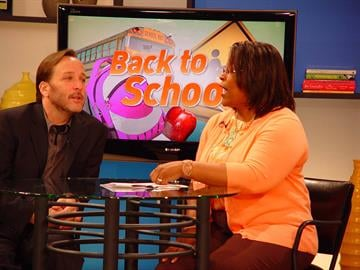Host Carol Daniel and Guest Russell Hyken talk about back to school. By KMOV Web Producer