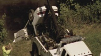 One person is dead after his car veered off the road and landed  Peruque Creek at Highway 79 and North Main in O'Fallon, Missouri. By Lakisha Jackson
