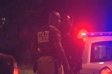 East St. Louis police investigating a double shooting overnight at a nightclub. By Afton Spriggs