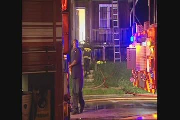 St. Louis firefighters say that an early morning house fire was intentionally set. By Afton Spriggs