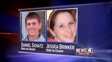 Jessica Brinker and Daniel Schatz were killed in a wreck on Interstate 44 involving four vehicles, including two school buses. By KMOV Web Producer