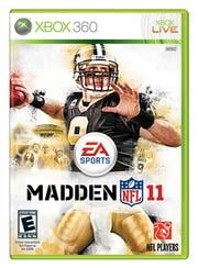 """In this publicity image released by EA Sports, the cover of the video game """"Madden NFL 11,"""" is shown. (AP Photo/EA Sports) By HO"""