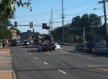 News 4's Matt Sczesny is getting report of accident involving a cyclist and car at Brentwood Blvd. and Litzsinger in Brentwood. (August 16, 2010) By Lakisha Jackson