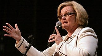Claire McCaskill By Afton Spriggs
