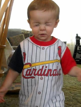 Wishing for an AWESOME Cardinal Season! By Afton Spriggs