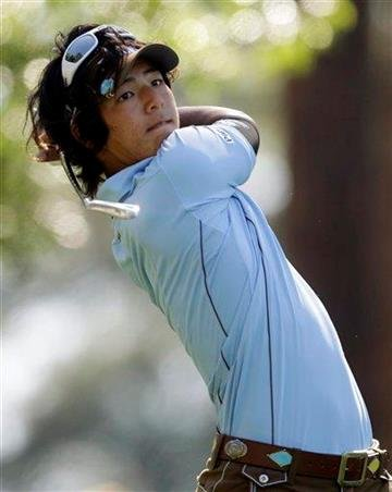 Ryo Ishikawa of Japan watches his tee shot on the fourth hole during the first round of the Masters golf tournament Thursday, April 7, 2011, in Augusta, Ga. (AP Photo/Chris O'Meara) By Chris O'Meara