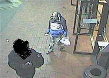 This video image provided by the FBI shows Santa Monica explosion suspect, Ron Hirsch allegedly attempting to board a bus the same day, April 7, 2011, he is suspected of a connection to the synagogue explosion. (AP Photo/FBI) By KMOV Web Producer