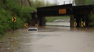 A massive storm system moved through the St. Louis area on Thursday, putting several local cities under the threat of flash floods. By Sarah Heath